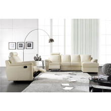 Living Room Genuine Leather Sofa (812)