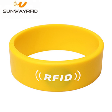 13,56 mhz siliconen RFID-armband polsband voor toegangscontrole