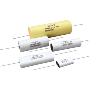Condensateur à film métallisé haute tension