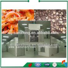 China Secador de túnel mais popular, bandeja de carrinho Frutas e máquinas de secagem Nuts