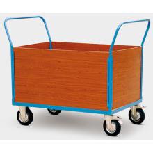 Wood Clapboard Hand Trolley