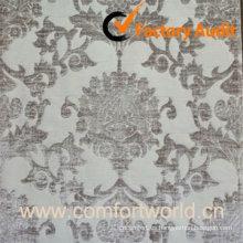 Tela del telar jacquar del poliester, utilizada para la cortina, sofá