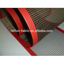 PTFE teflon coated fiberglass mesh conveyor belt for dehydrated food and vegetable