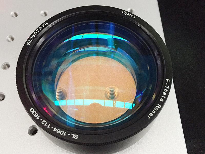 fiber laser marker field lens