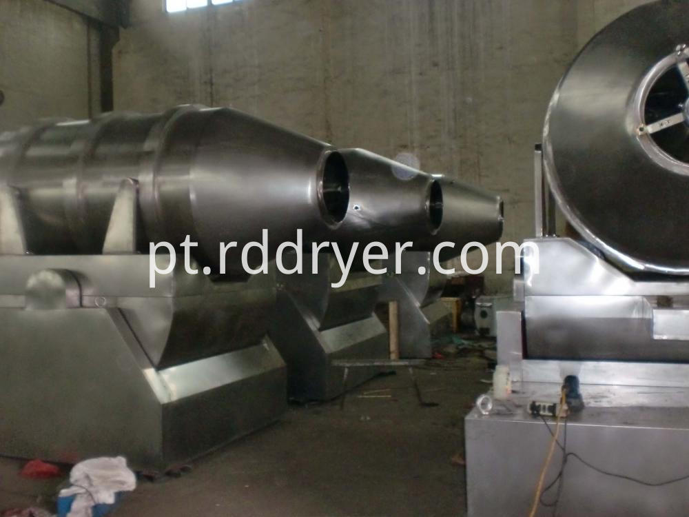 High Efficient Two Dimensional Blending Machine Mixing Machine