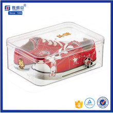 Custom High Quality Clear Acrylic Shoe Display Box for Children
