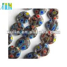 wholesale yiwu beads, millefiori glass bead, chevron bead