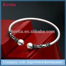 Italiano prata esterlina cadeia pulseira prata banhado jóias de prata esterlina jóias minimalista