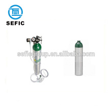 Pakistank philippines market Type size M9 MD ME medical aluminum oxygen cylinder 2.82L 4.64L