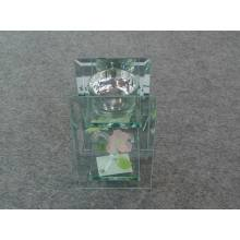 Flat Glass Candle Holder (KL120201-139A)