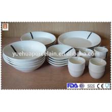 20 pcs ceramic tableware dinner set