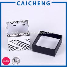 Emballage de boîte en carton de forme personnalisée de haute qualité
