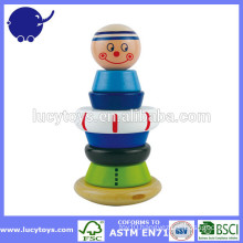 educational toy wooden Stacking Jack