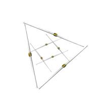 Condensador cerámico axial Topmay de 25 a 100 VDC
