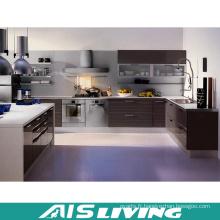 Mobilier de meubles de cuisine de porte en mélamine (AIS-K182)