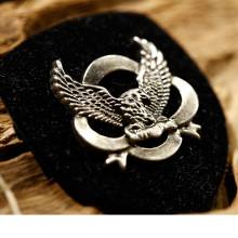 Super quality leather patches custom leather patch hat beanies