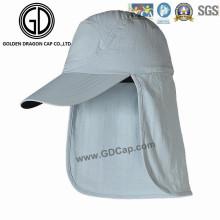 Simple Claasic Comfortable Earflap Cap Neck Racing Sports Cap