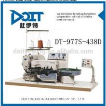 Alimentador de botão DT-977S-438D com máquina de costura de botão 438D