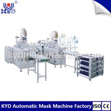 Автоматическая машина для изготовления одноразовых нетканых медицинских масок