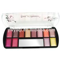 12Colors shiny eyeshadow containers makeup eyeshadow