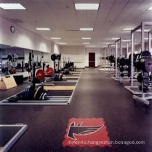 The Manufacturer of Professional Cheap Rubber Tile Floor for Indoor/Outdoor Gym/Fitness Club