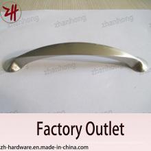 Venta directa de fábrica Aleación de zinc Cabinet manija de muebles (ZH-1102)