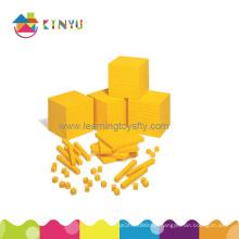 Plastic Base Ten Blocks for Mathematics/Teaching Aids (K001)