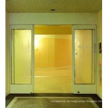 Automatisch geöffnete Schiebe-Galss-Tür