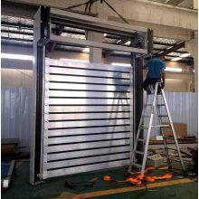 2018 Sound-proof Exterior Hard metal High Speed Door