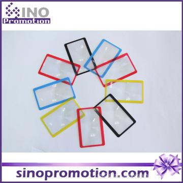 Wholesale Custom 3X Large Plastic Credit Card Magnifier