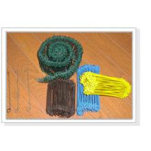 Kunststoffüberzogene Wire Bag Ties