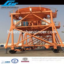 Navire de chantier naval \ déchargeur de matériel en vrac de port maritime