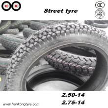 Street Tyre, 2.50-14 2.75-14 Tyre, Motorcycle Tyre