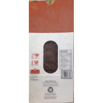 Бумажный пакет с сетчатым окном для картофеля
