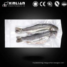 food grade vacuum bag frozen fish packaging