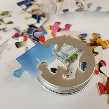 Factory cutom Eco-friendly 1500pcs puzzelgames puzzel voor kinderen