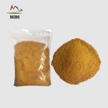 perfil de aminoácidos de la harina de gluten de maíz 60
