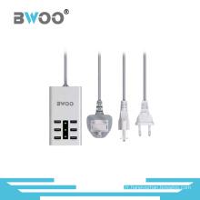 Chargeur multi-fonction USB à 6 ports avec prises EU Us UK