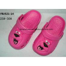 Últimas Design EVA Jardim Sapatos Chinelos Moda para Crianças (FBJ521-14)