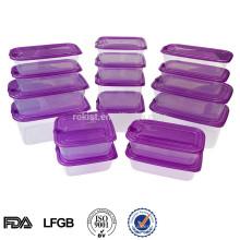 Récipient en plastique micro-ondes en plastique