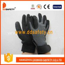 Stretch-Stoff mit schwarzem Nitril-Handschuh-Dnn610