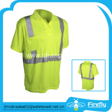 sports Polo pocket yellow tshirt for men