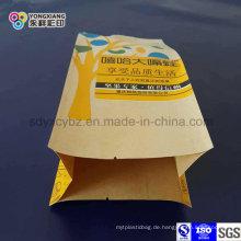 Laminiertes Papier 4-seitiges Siegel-Imbiss-Nahrungsmittelplastikverpackungs-Beutel