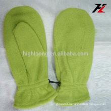 Нижняя цена рукавицы зеленые перчатки флиса для besties