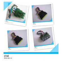 Facory of 4pin Electrical Waterproof Male Female Terminal Plastic Cable Wire Auto Connector