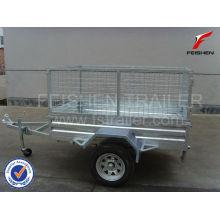 Inclinación jaula remolque 6 x 4 trailer