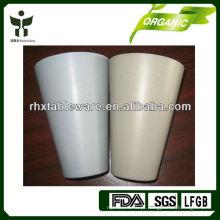 Copos biodegradáveis de fibra de bambu