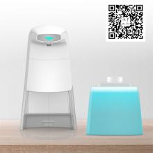 Novo Dispensador de sabão 2020 Sensor sem toque Dispensador de sabão com suporte de esponja para acessórios de banheiro