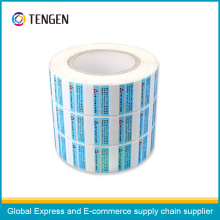 Customized Printing OEM Sticker Label
