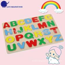 Kids Educational Wooden Alphabet Puzzle Toy